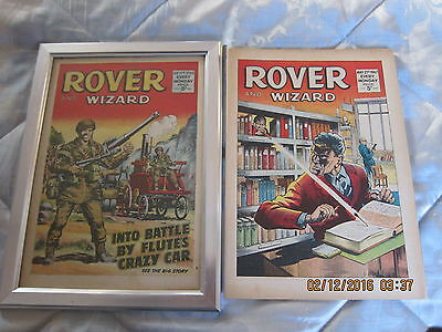 Rover And Wizard Comic- Complete - Used But Still Good. 27 May/1967