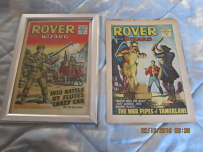 Rover And Wizard Comic- Complete - Used But Still Good. 13Th. May/1967