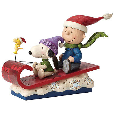 Peanuts Snow Day (Charlie & Snoopy) Figurine Collectable