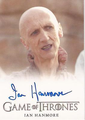 "Game of Thrones Season 2 - Ian Hanmore ""Pyat Pree"" Autograph Card"