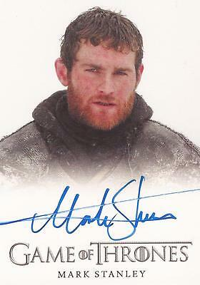 "Game of Thrones Season 4 - Mark Stanley ""Grenn"" Autograph Card"