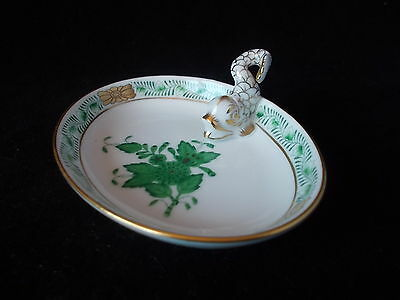 Stunning Herend Dolphin Oval Dish