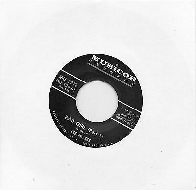 LEE MOSES     BAD GIRL (Part1) / PART 2   MUSICOR  Re-Issue  NORTHERN SOUL