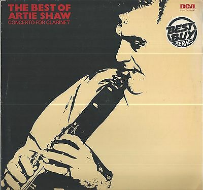 Artie Shaw - The Best Of Lp 1973 On Rca Records