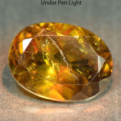 1.53 Cts Unheated Rare Color Change Natural Sphene Gemstones