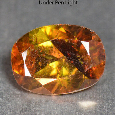 0.88 Cts Unheated Rare Color Change Natural Sphene Gemstones