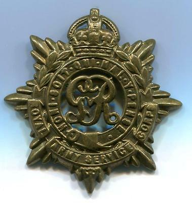 British  Royal Army  Service Corps  G - R  Brass Badge (4)