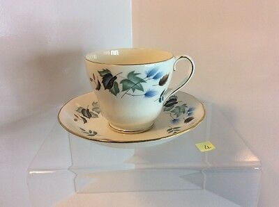 Colclough  Cup And Saucer With Linden Pattern