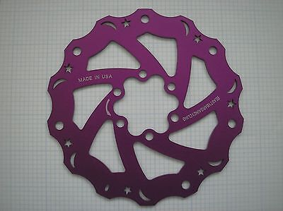 1 Made in USA Beastybargains 160mm- 6 bolts Mount-Bike Rotor-Front/Rear-Purple