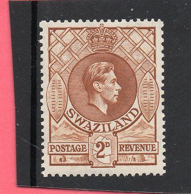 SWAZILAND 1938 G V1  2d yell.brown sg 31 H.MINT