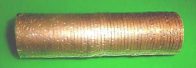 1971 Decimal One Penny 1p coins Mint Sealed - Roll of 50 coins Uncirculated:
