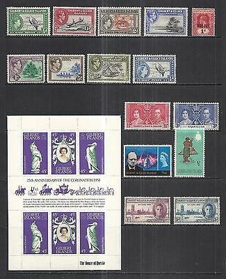 Gilbert & Ellice Islands 1918 - 1978 Various Mint Issues