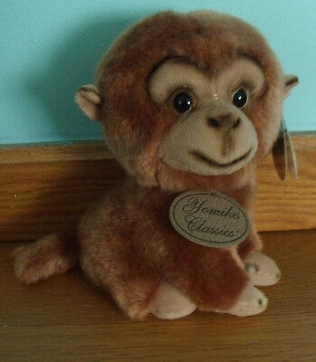 Russ Yomiko Classics Monkey Brown Plush Animal