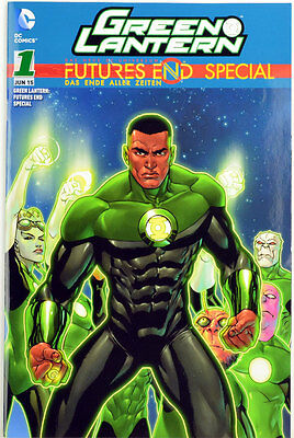 Green Lantern: Futures End Special, Variant Cover limitiert, DC Comics