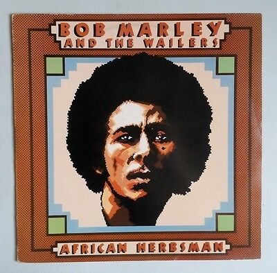 Bob Marley & The Wailers - African Herbsman - Vinyl LP UK