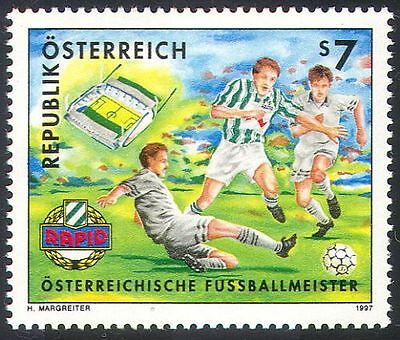 Austria 1997 Football Clubs/Soccer/Sport/Games/Rapid Vienna 1v (n23992)