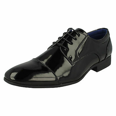 WHOLESALE Mens Patent Formal Shoes / Sizes 7x11 / 14 Pairs / A2135