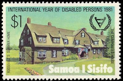 """SAMOA 552 (SG593) - Year for Disabled Persons """"Campobello House"""" (pa60955)"""