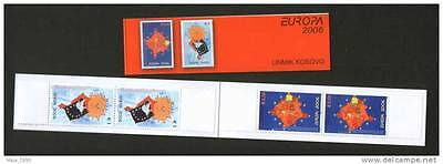 Kosovo-Booklet With Two Perforated Sets-Europa Cept-2006.