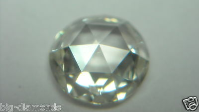 5.00mm/ 1Piece Natural Real G Color VVS-VS White Round Rose Cut Diamond