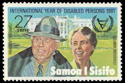"""SAMOA 549 (SG590) - Year for Disabled Persons """"Franklin Roosevelt"""" (pa60954)"""