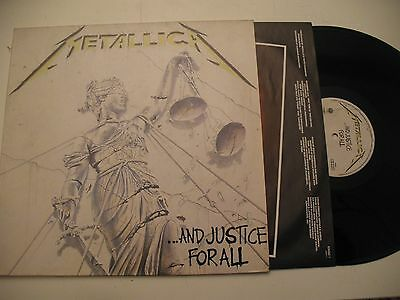 METALLICA And Justice For All 2LP HOL 1988 1st Press