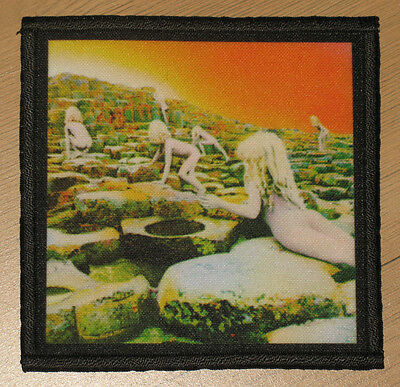 """LED ZEPPELIN """"HOUSES OF THE HOLY"""" silk screen PATCH"""