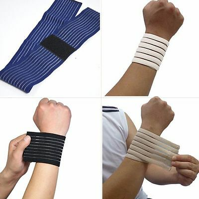 Gym Wraps Elastic Safety Bandage Sports Safety Wrist Protector Wristbands