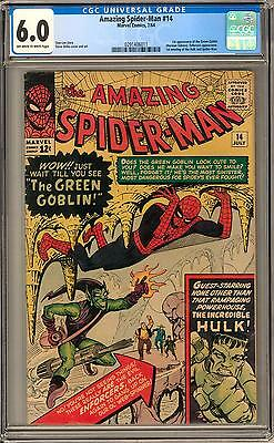 Amazing Spider-Man #14 CGC 6.0 (OW-W) 1st appearance of Green Goblin
