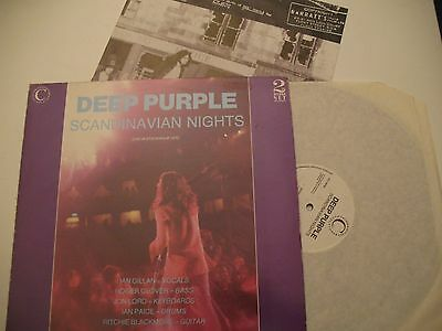 DEEP PURPLE Scandinavian Nights 2LP UK 1988 1st Press Gatefold Rare!!!