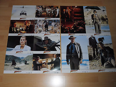 INDIANA JONES AND THE LAST CRUSADE - 12 german lobby cards ´89 - HARRISON FORD