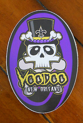 "Voodoo - New Orleans  Auto/Refrigerator Decal/Sticker  "" Oval Design"" New"