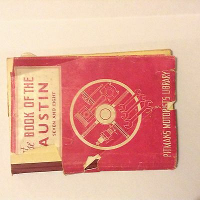Austin Seven And Eight Maintenance Manual