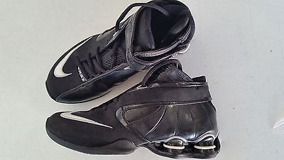 New Nike Shox Elite Womens 7 Basketball Shoes 316685 Blk/Wht/Slvr