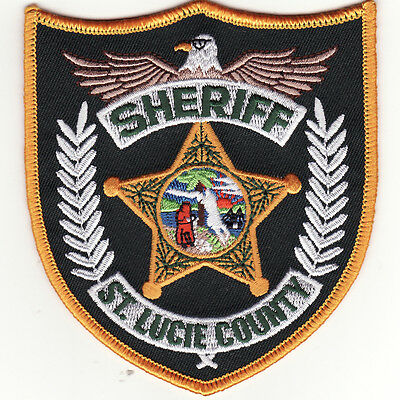 FL St. Lucie County Florida Sheriff's Office Deputy Police Patch *New*