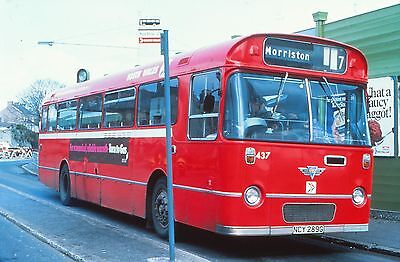 DUPLICATE 35mm BUS SLIDE,  AEC RELIANCE  SOUTH WALES TRANSPORT  NCY 289G