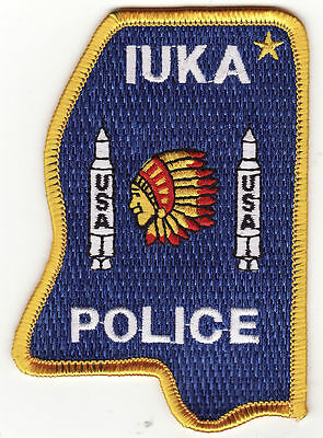 MS Luka Mississippi Police Patch *New*