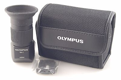 Perfect OLYMPUS Digital VIEWFINDER VA-1 Right Angle +Case +Accessory Adapter