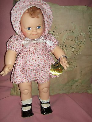 """1964 vintage, 16"""" vinyl Rose O'Neill, Scootles doll by Cameo (Maxine's Ltd. Ed.)"""