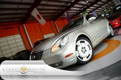 2003 Lexus SC Base Convertible 2-Door 03 LEXUS SC430 CONVERTIBLE NAVIGATION MARK LEVINSON