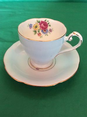 A.b.g.grafton China Made In England Cup & Saucer