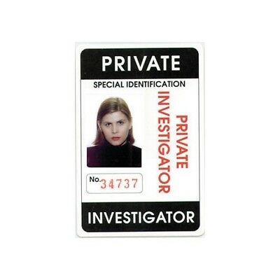 Private Investigator ID Card - Long