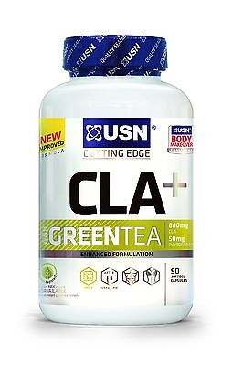 USN CLA Green Tea Weight Loss and Antioxidant Softgels - Tub of 90 NEW