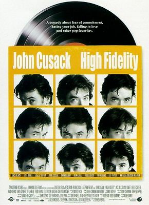 High Fidelity - original DS movie poster - D/S 27x40 - Cusack