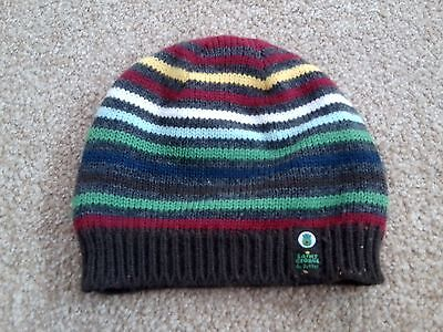 St.george By Duffer Knitted Baby Boys Hat 18-36 Months Brand New