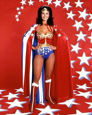 "Lynda Carter Wonder woman 10"" x 8"" Photograph no 5"