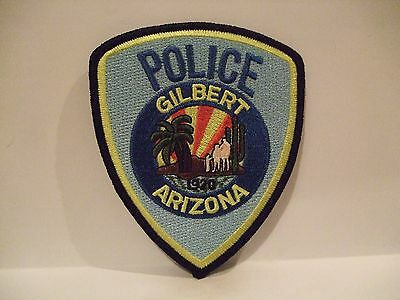 police patch  GILBERT POLICE ARIZONA   DIFFERENT STYLE
