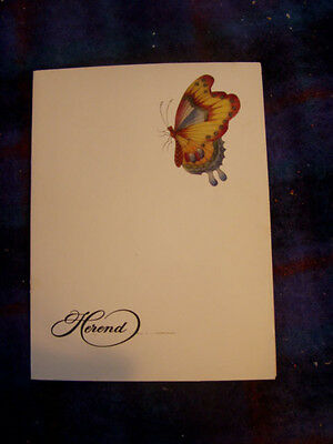 Herend porcelain catalog 1980s 80 pages