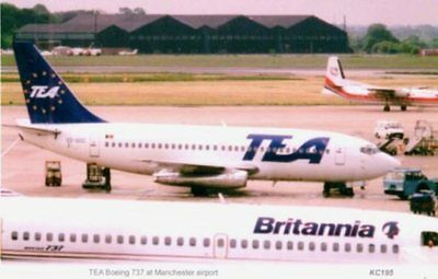 TEA  Belgian Airlines Boeing 737 Manchester Airport