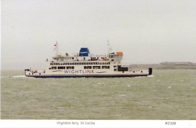 Wightlink ferry St Cecilia Fisbourne Portsmouth